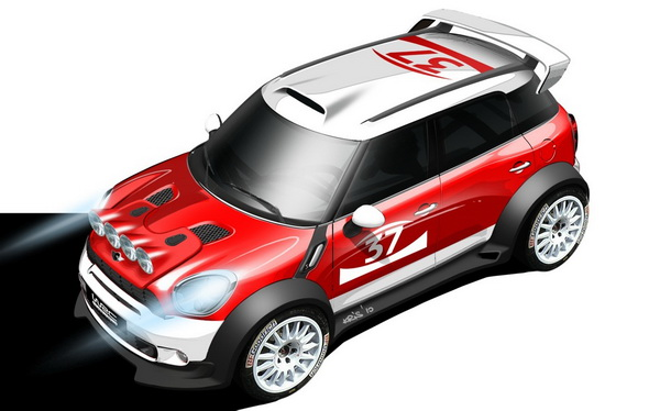 MINI Countryman WRC Design Sketch